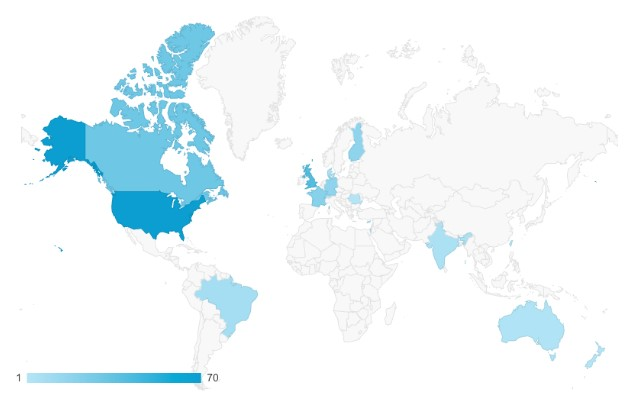 Global participation during the PLOS iGEM Realtime Peer Review Jamboree